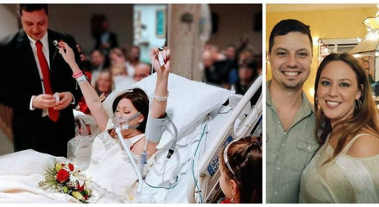 Bride Battling Cancer Dies Just After Taking Her Vows In The Hospital