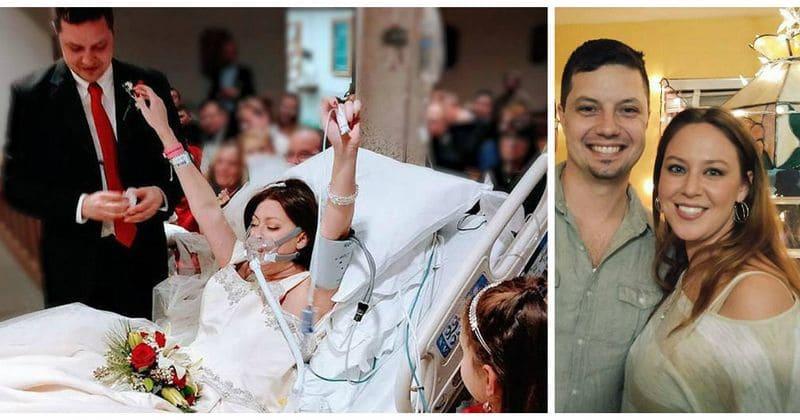 Bride Battling Cancer Dies After Taking Her Vows In The Hospital