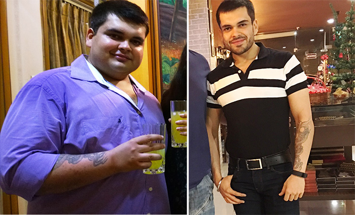 Naynesh Chainani weight transform journey