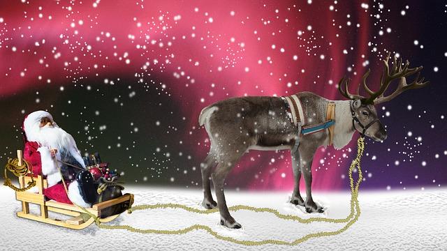 new year santa images