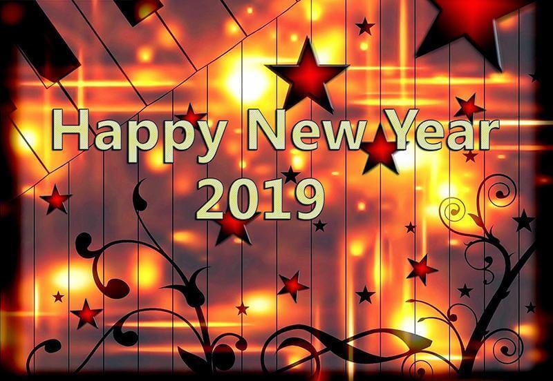 wallapaper happy new year 2019