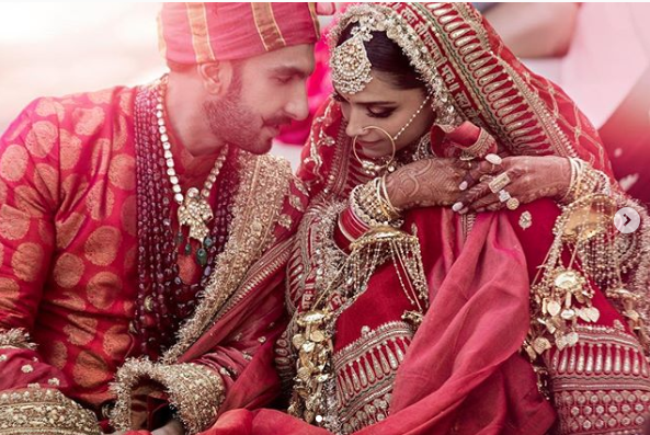 Ranveer and Deepika Wedding photos