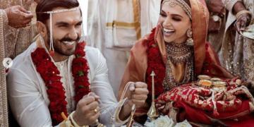 Ranveer singh and Deepika padukone Wedding photos