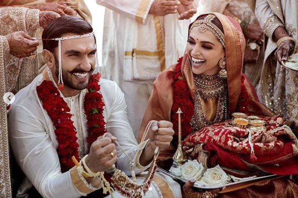 Ranveer singh and Deepika padukone Wedding photos