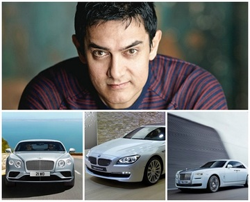 aamir khan car collection