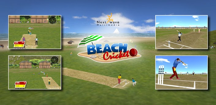 beach cricket best cricket game in android