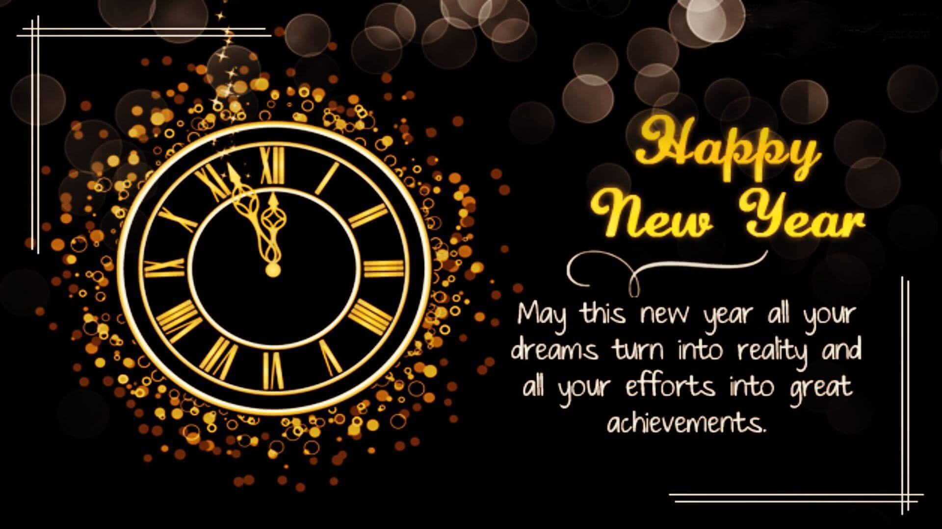 Happy New Year Message 50