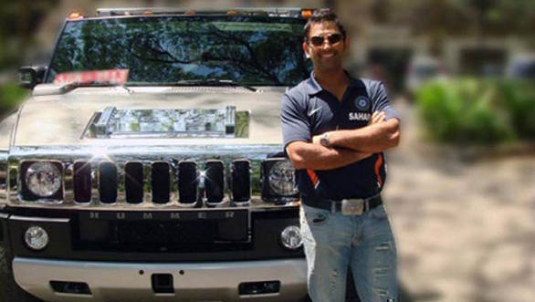 ms dhoni expensive cars collection