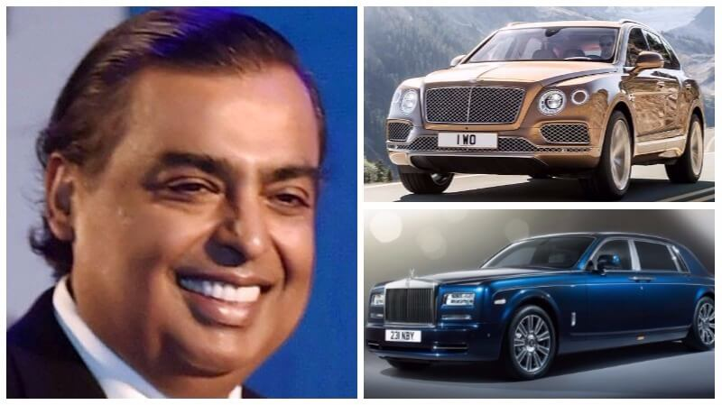 mukesh ambani car collection