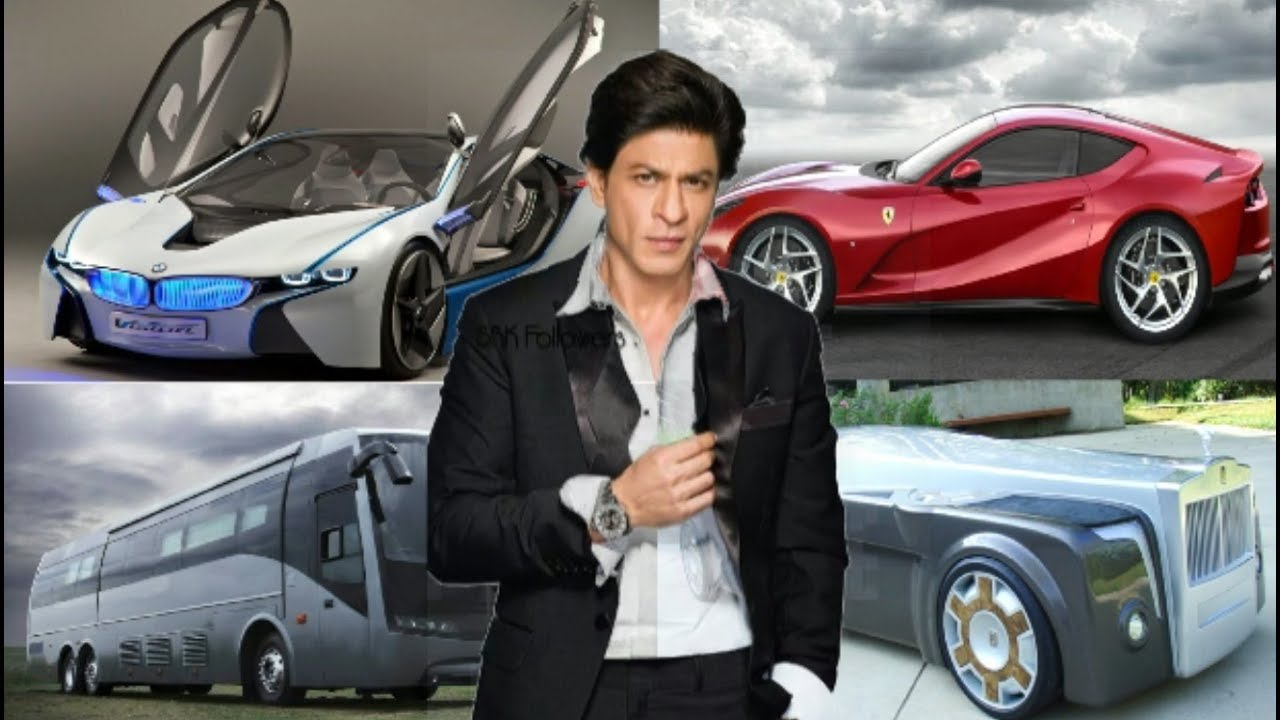 shahrukh khan expensive cars collection