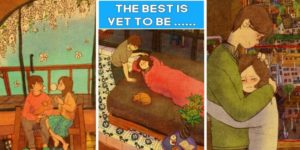 20 Beautiful Illustrations Perfectly Portrays How It Feels To Be In Love.