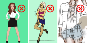 30 Fashion Faux Pas That Make You Look Too Messy To Cut That Deal