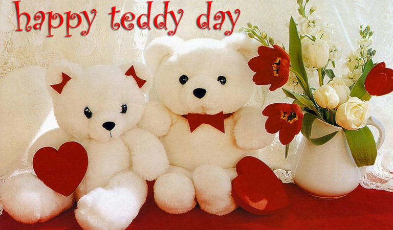 Happy Teddy Day GIF, 3D Pics and WhatsApp DP for GF and BF