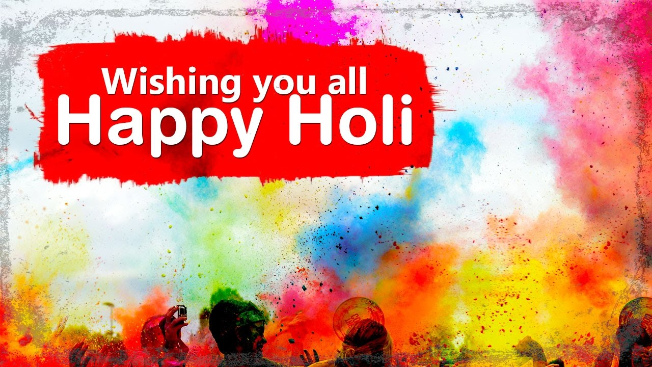happy holi video status