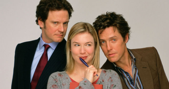 The Bridget Jones Diary Series romantic movies in hollywood