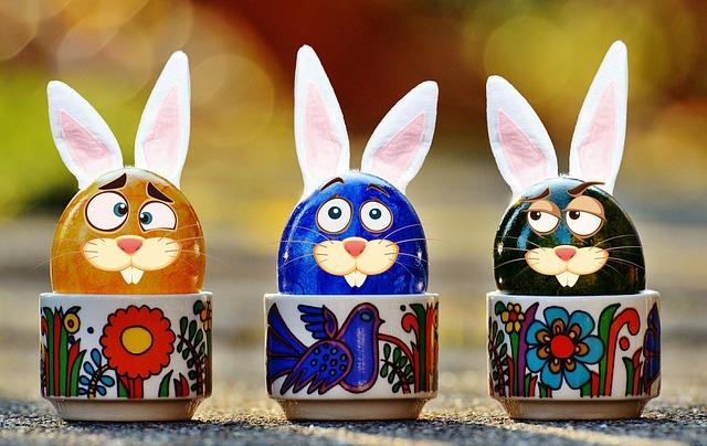 egg bunny image