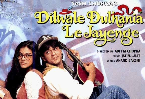 Dilwale Dulhania Le Jayenge Best Romantic Movies in Bollywood