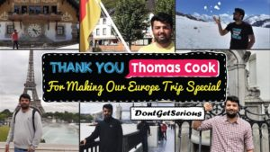 Thank You Thomas Cook For Making Our Europe Tour Special