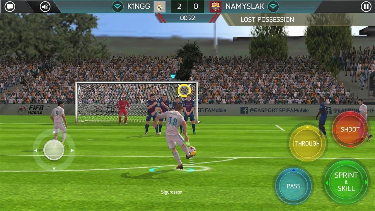 FIFA Soccer best android game for football