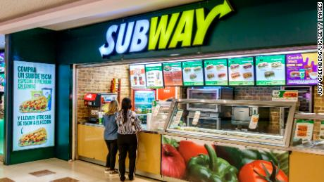 subway franchise in india investment