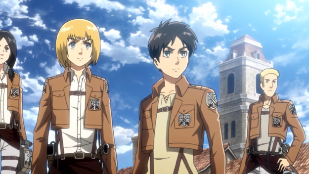 Attack on Titan best anime series