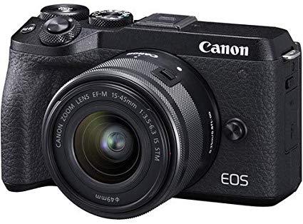 Canon EOS M6 camera black friday deals