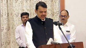 Devendra Fadnvas takes Oath as Maharashtra CM