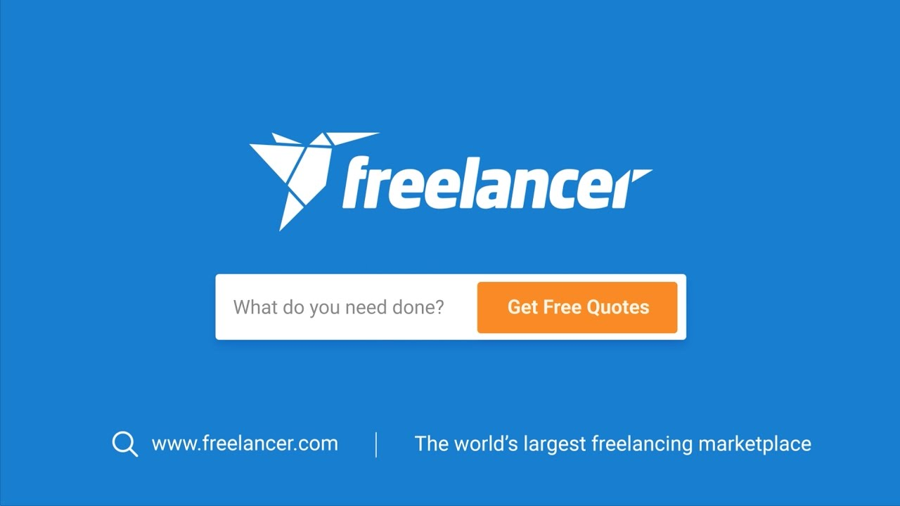 FREELANCER is worlds biggest freelance marketplace