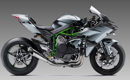 Kawasaki Ninja H2R is expensive bike
