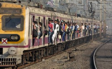 Mumbai: Pregnant Woman Survives After Husband Pushes Her Off Moving Train