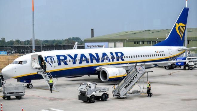 cheapest airlines in world to fly Ryanair