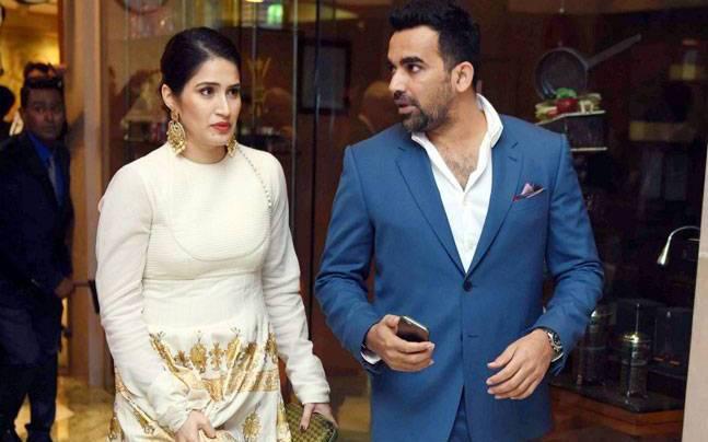 Sagarika zaheer wife