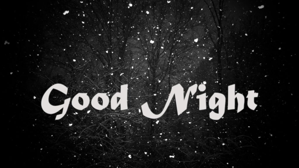 just good night