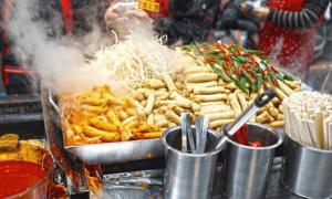 south korea street food