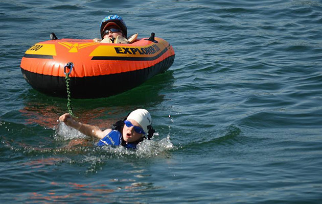 8-Year-Old Hero Carried His Disabled Younger Brother Through An Entire Triathlon