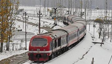 Kashmir will get Connectivity with Entire India through Railway by December 2021