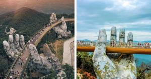 the golden bridge vietnam