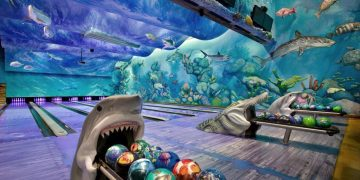 Bowling In An Underwater Aquarium