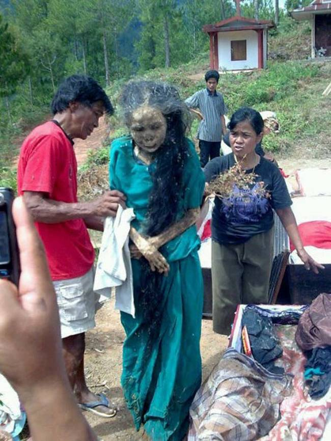 Villagers Dig Up Dead Relatives And Dress Them Up In Ritual