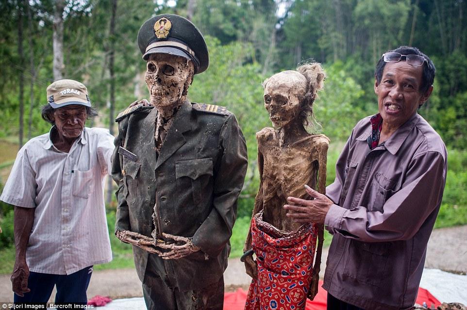 Villagers Dig Up Dead Relatives