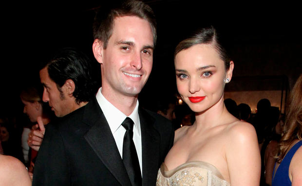 Evan Spiegel youngest person