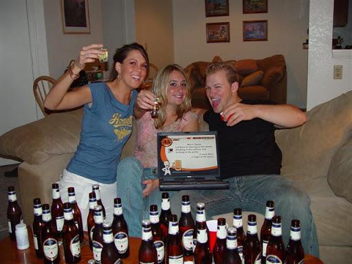 Power Hour best drinking game