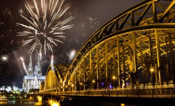 New Year's Eve In Germany