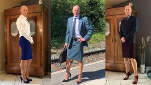 This Guy Proves That Skirts And Heels Are Not Just for Women!