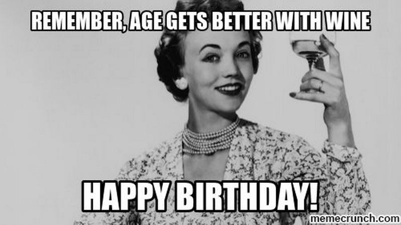 age gets better with wine memes