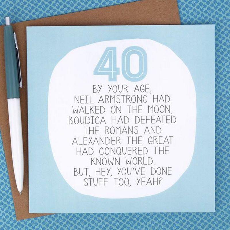 Best happy 40th birthday memes