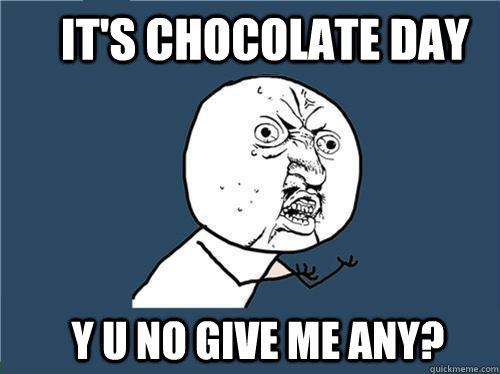 chocolate day memes