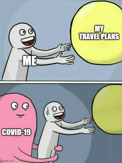 coronavirus travel memes