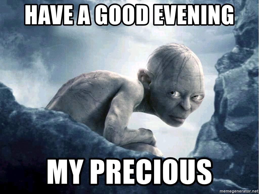 funniest good evening memes