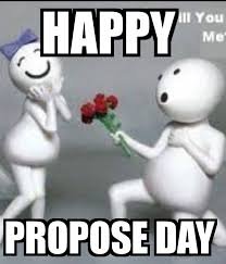 happy propose day images memes